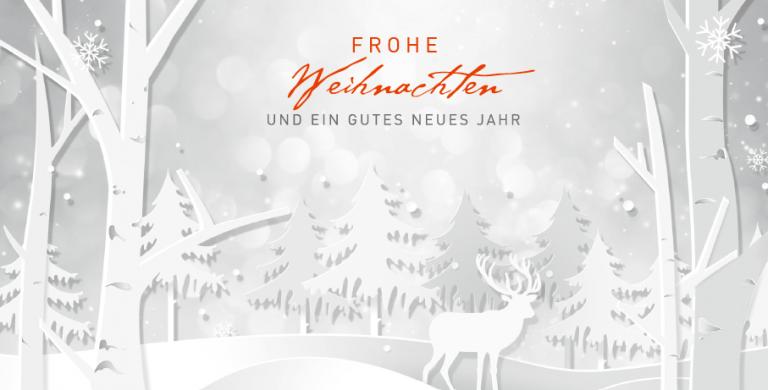 News Vorschaubild - Frohe Weihnachten und ein gutes neues Jahr!