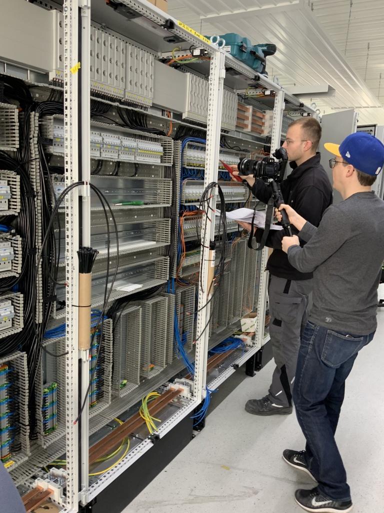 News Vorschaubild - Video shoot with our apprentices