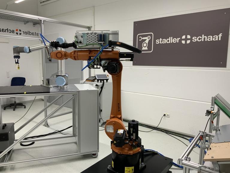 News Vorschaubild - Robotik @ Stadler + Schaaf